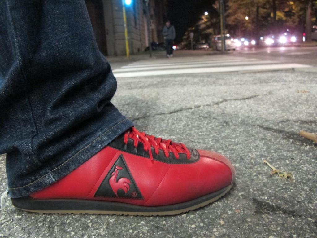 scarpa rossa zeno