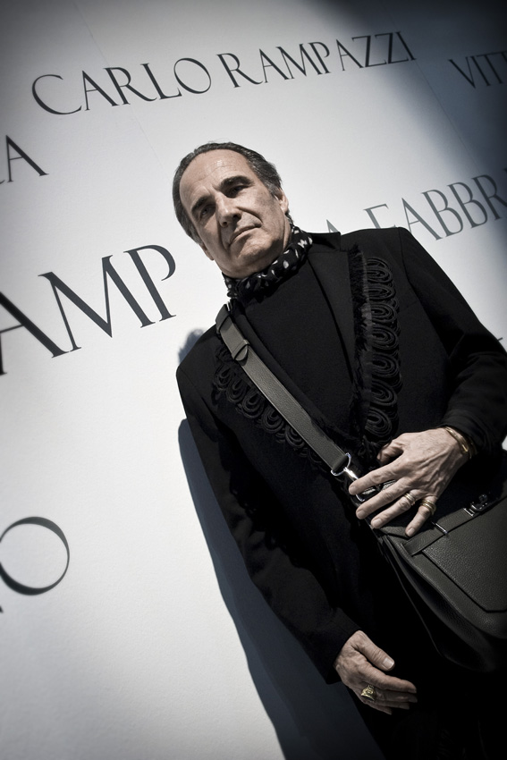 21.01.2014, Milan, Rho Fiera, The Swiss designer Carlo Rampazzi