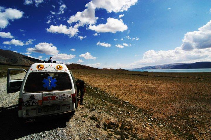 da qualche parte in Mongolia