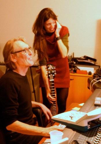 Con Giorgio Canali foto Emanuela De Toffani