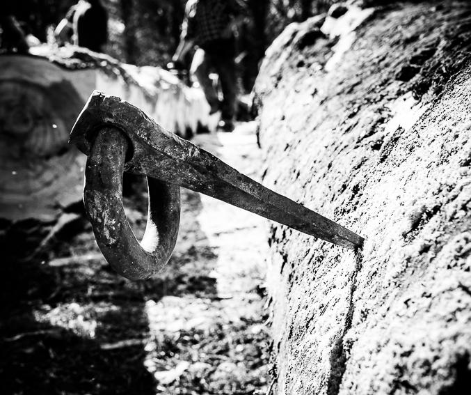 I ganci nel legno