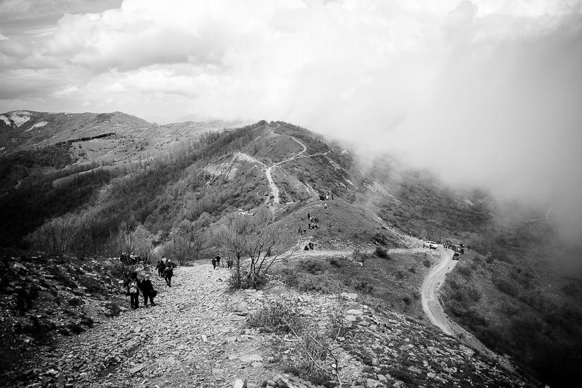 La strada della montagna