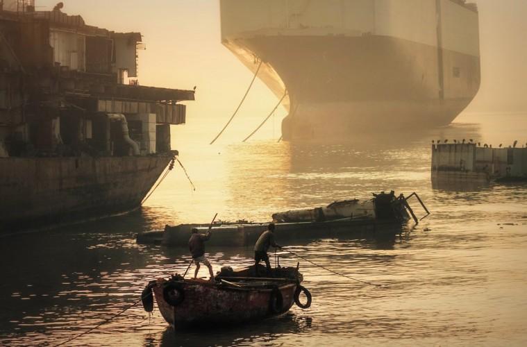 Ship Braking Yards of Alang