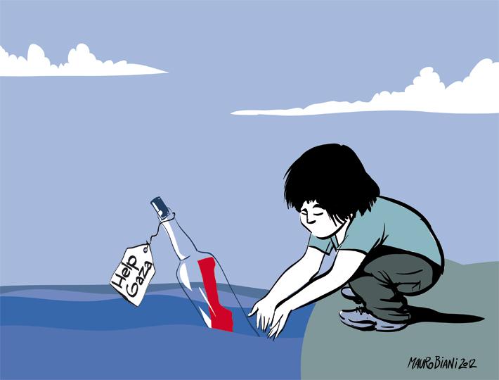 Disegno di Mauro Biani. Tratto da www.maurobiani.it. Mauro è un disegnatore, un illustratore, uno scultore