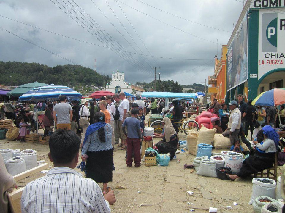 Il mercato di Chamula