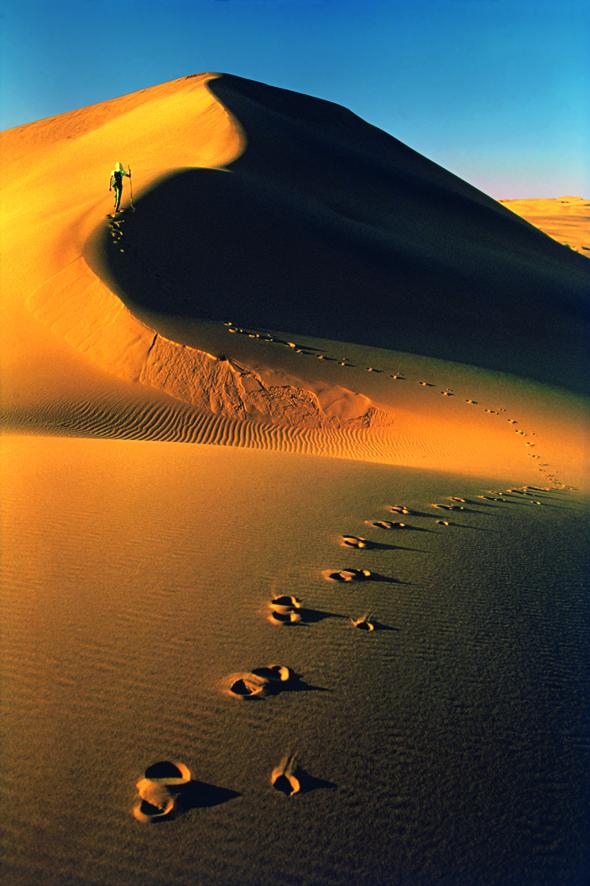 Deserto del Namib, Namibia. Aprile - Maggio 1972  © Walter Bonatti/Contrasto