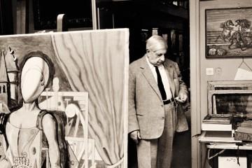 Ritratto di Giorgio de Chirico