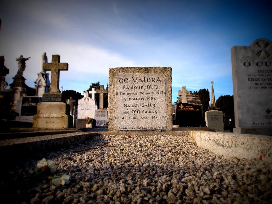 La tomba di Valera Éamon de Valera