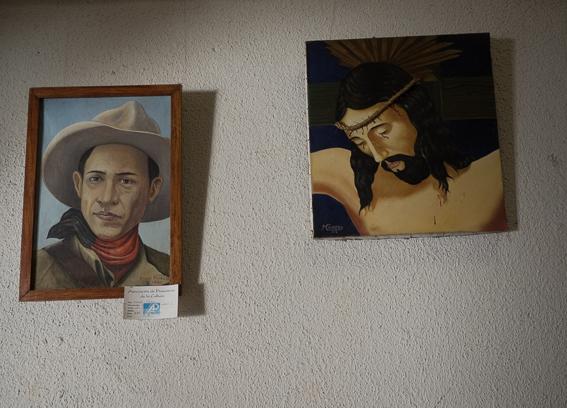 Sandino y Cristo