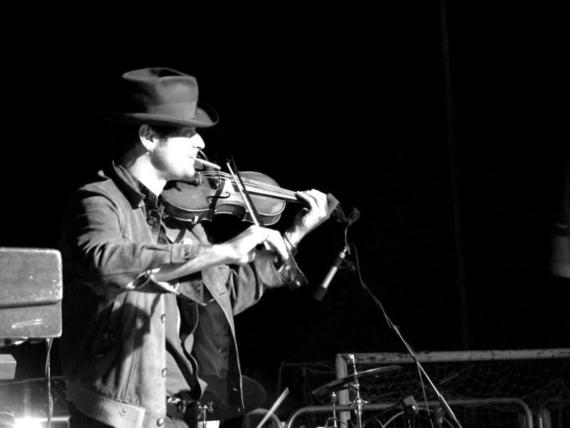 Il violinista dei Guappecarto' Marco Sica