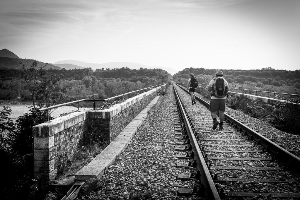 Viadotto ferroviario sul torrente Cellina, grandiosa opera di ingegneria architettonica