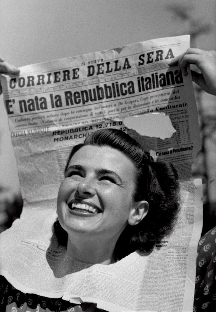 copertina di Tempo n. 22, del 15-22 giugno 1946 © Federico Patellani - Regione Lombardia / Museo di Fotografia Contemporanea
