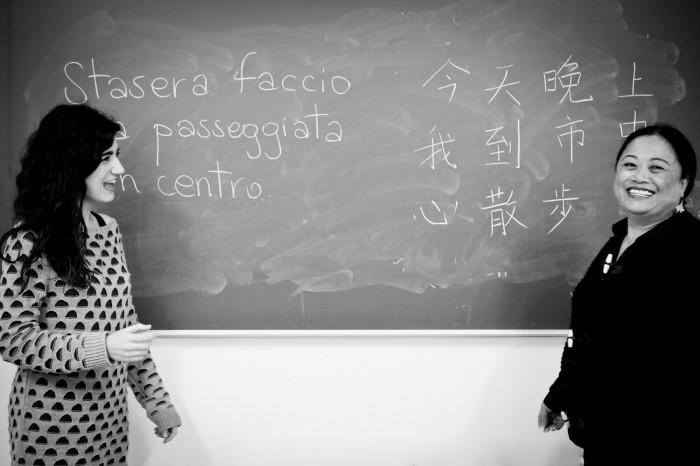 @ilariacostanzo Facewall Prato - Sara e Liu Shan