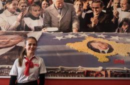La pasticceria Fellini a Prishtina