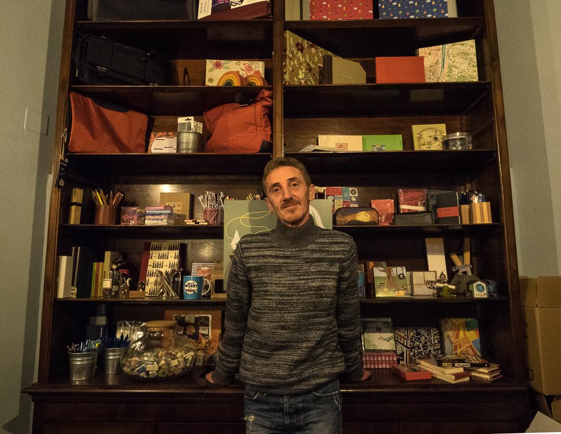 Andrea, il libraio