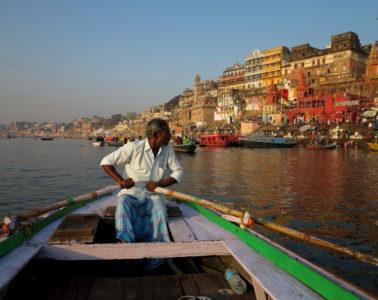 La città vista dal Gange