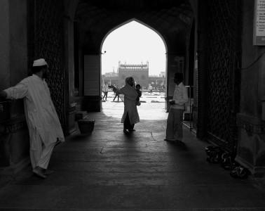 La moschea Jama Masjid può contenere fino a 25mila fedeli