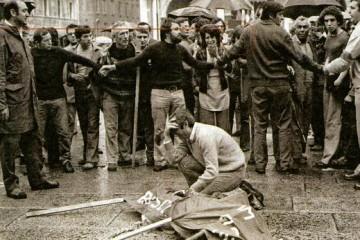 Piazza della Loggia, Brescia, 1974