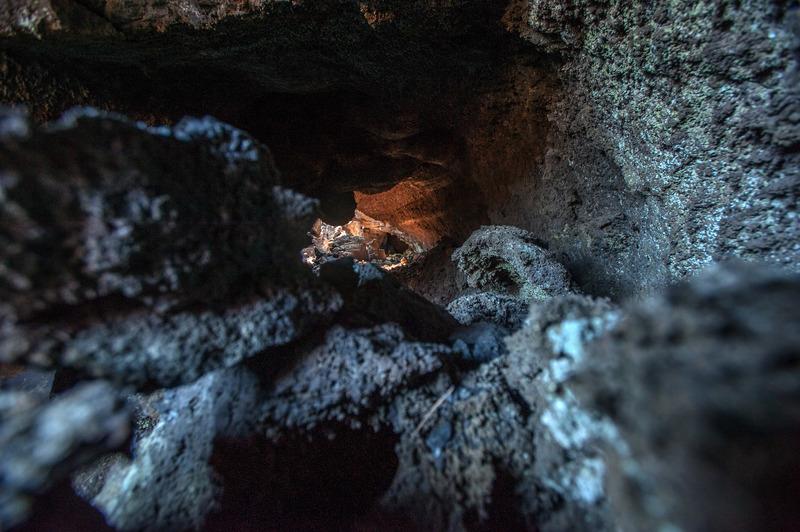Interno del vulcano