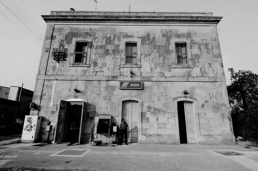 La stazione di Muro Leccese