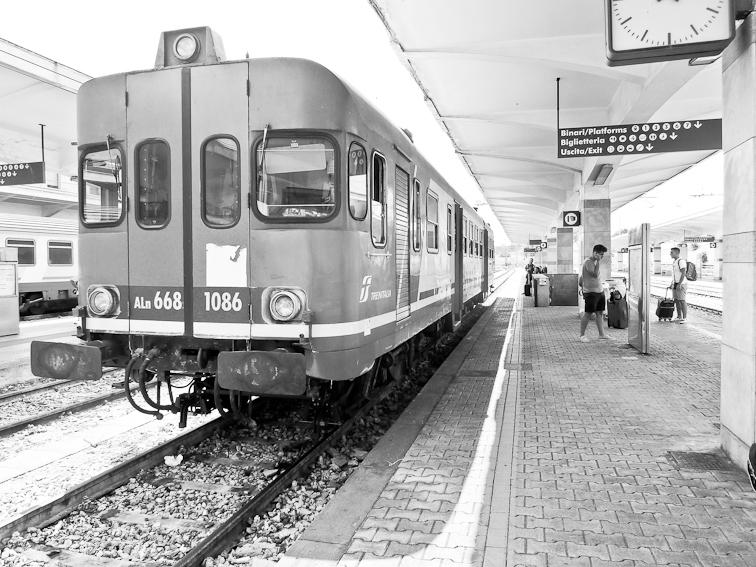 Il treno per Lecce