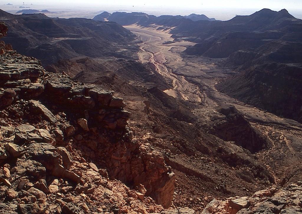 Un valle del Gilf Kebir