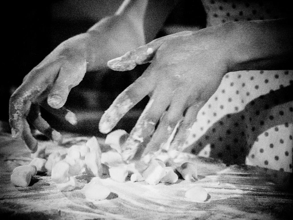 La mani e gli gnocchi