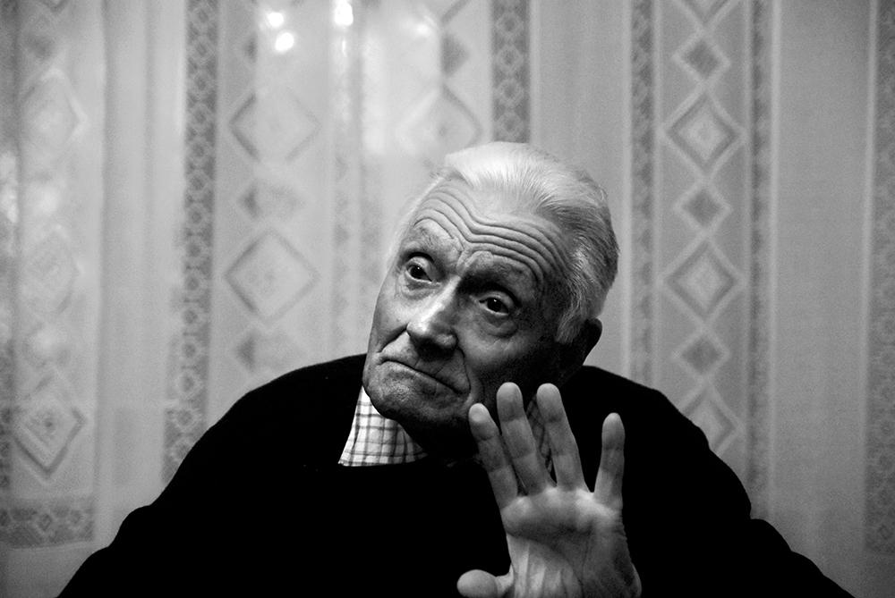 Asciano primavera 2013. Enrico Boccini racconta. Sono figlio di antifascista e sono antifascista. Al mio bisnonno Guerrino.