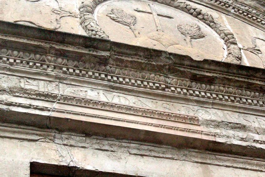 Il portale di Michelozzo a San Bartolomeo a Monte Oliveto a Firenze
