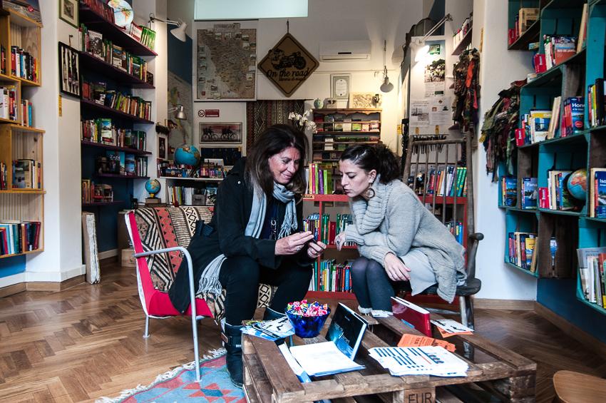 Libreria Ontheroad a Firenze