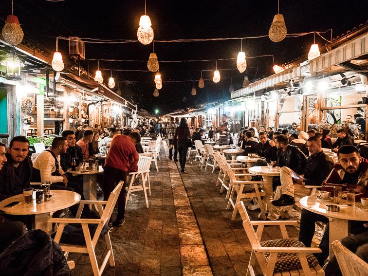 Il vecchio bazar di Gjakova
