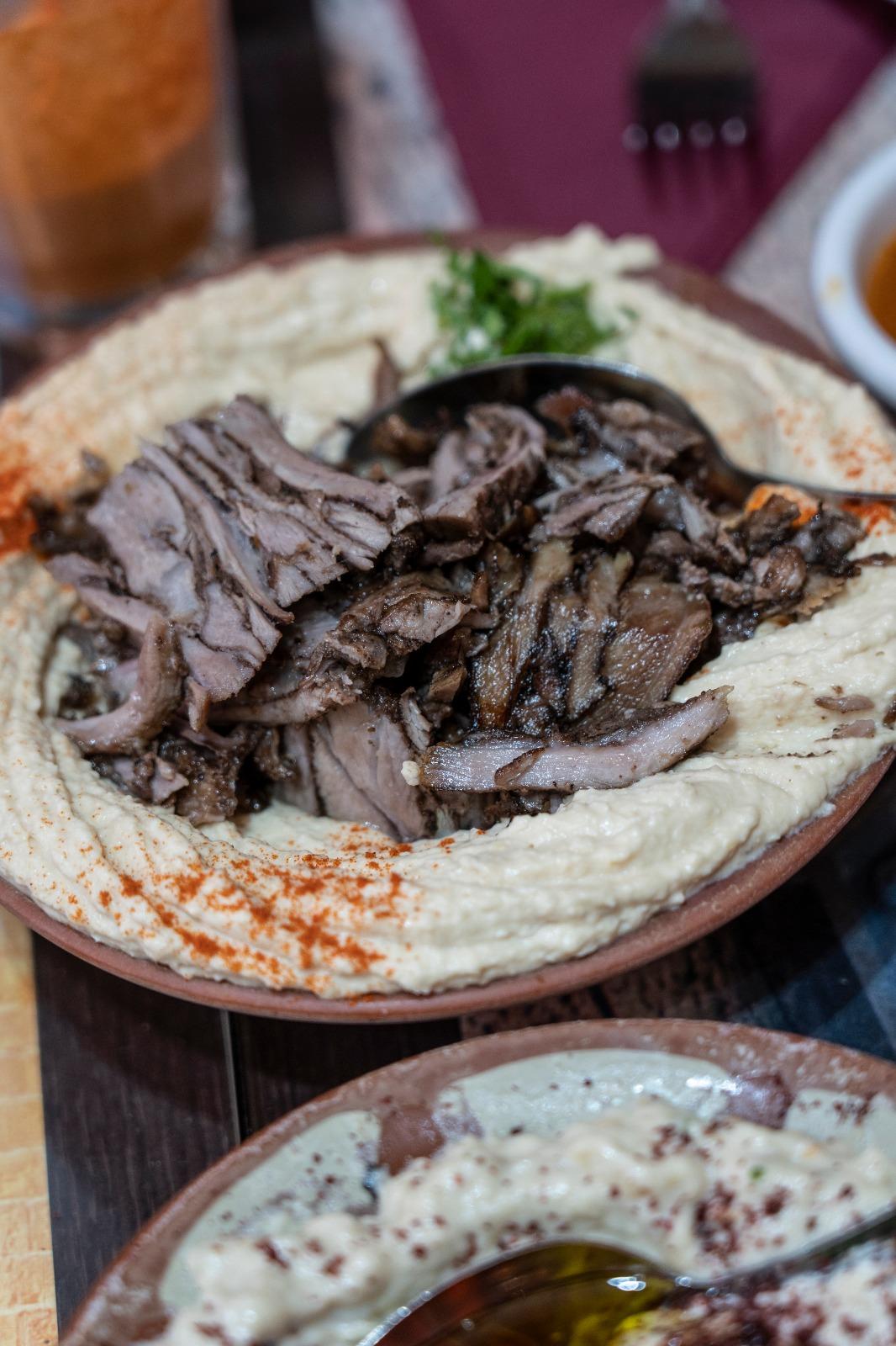 cucina palestinese Londra