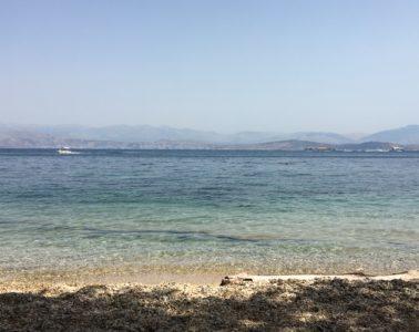 Vista dalla Spiaggia di Vrachli