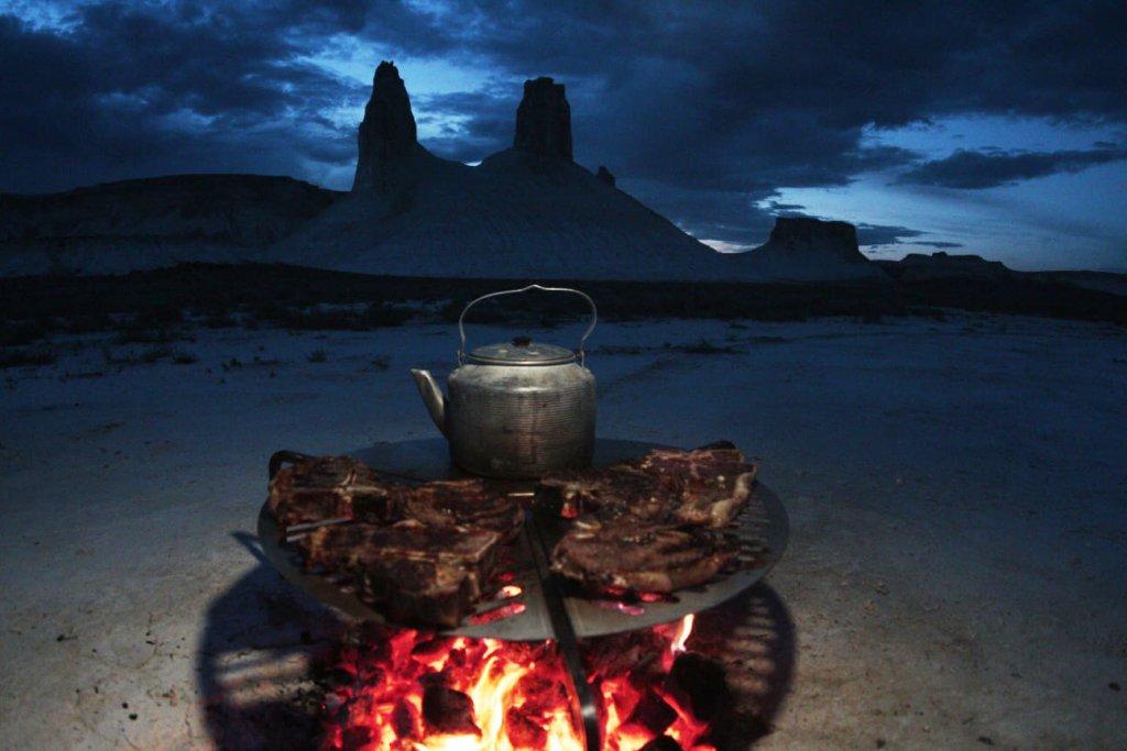 Barbecue nel deserto