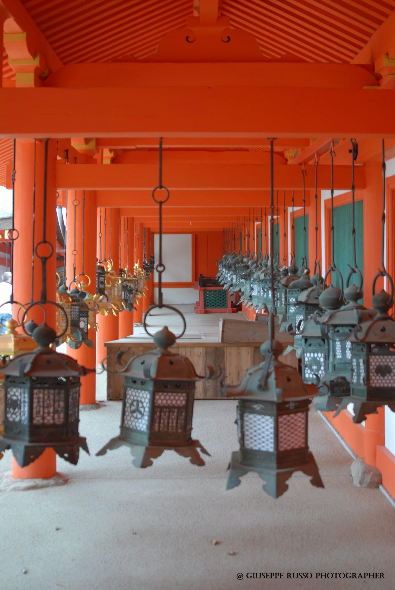 NARA, santuario scintoista Kasuga Taisha (lanterne)