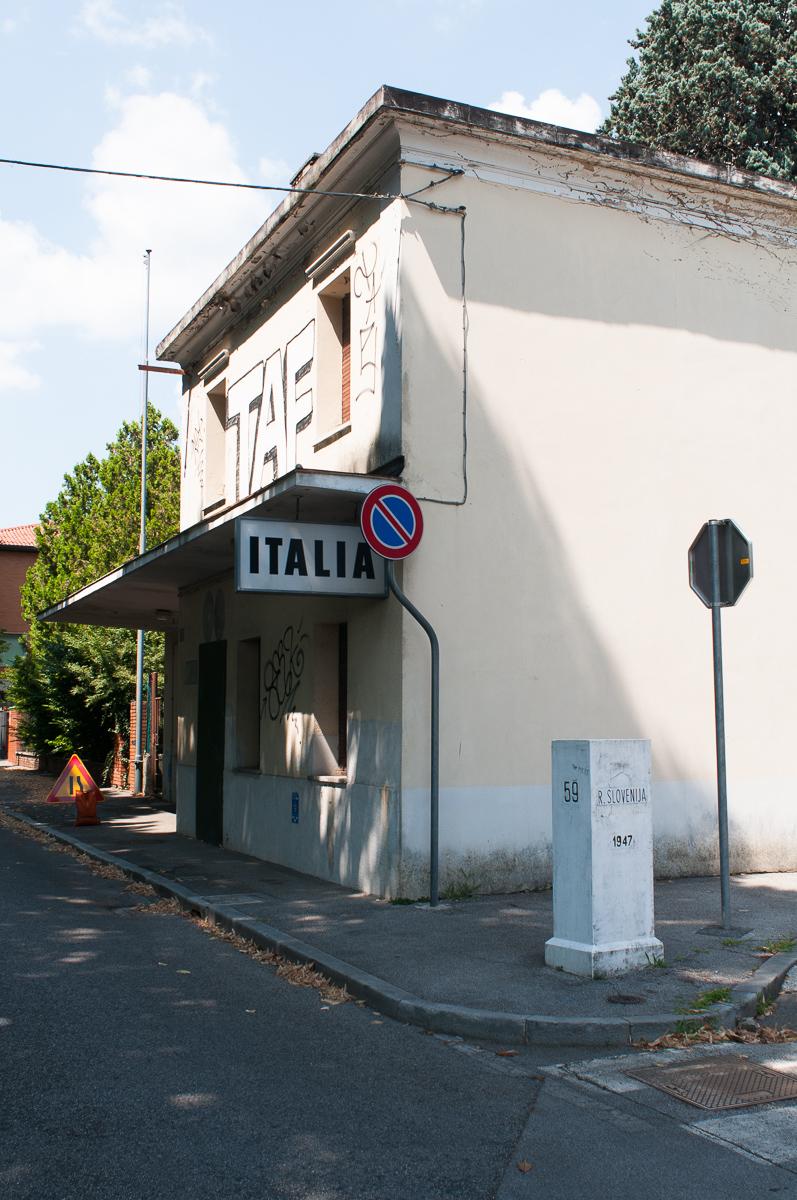 Gorizia - Valico di Via Vittorio Veneto