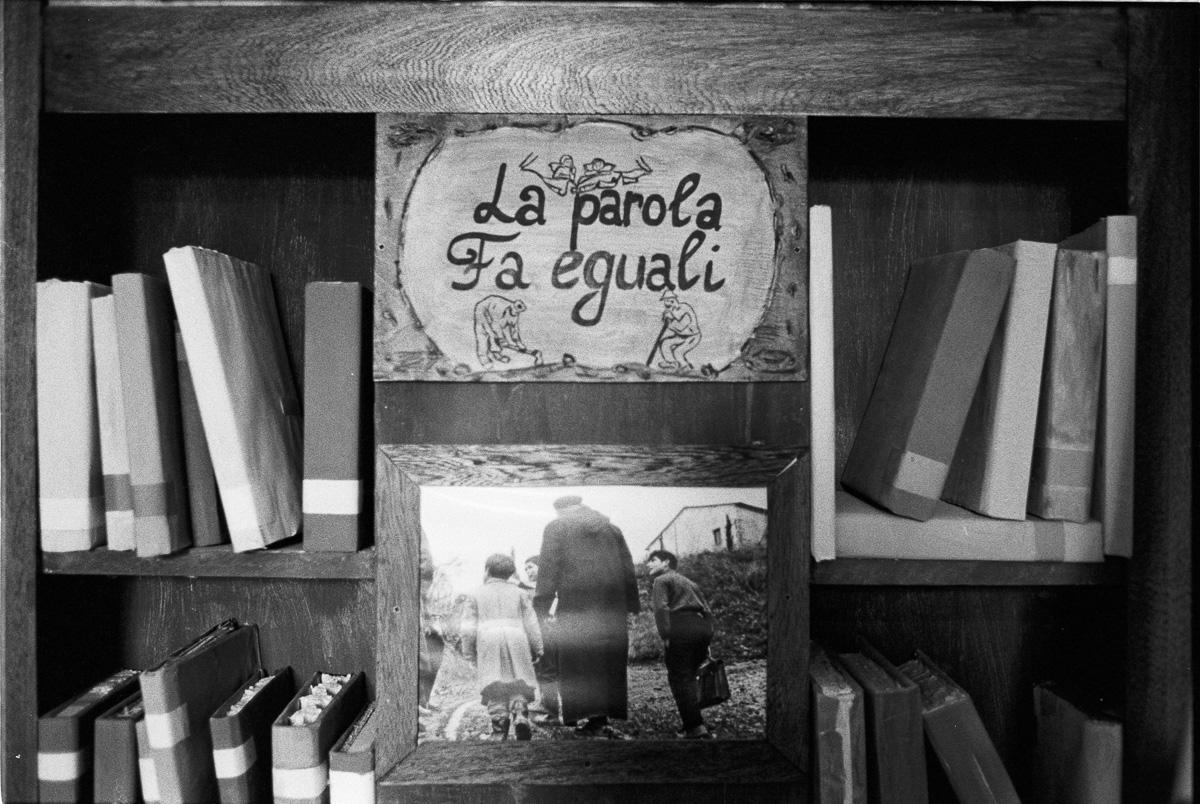 """""""La parola fa eguali"""" disegno di una delle frasi più amate di Don Milani"""