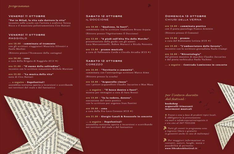 Libra Casentino Book Festival