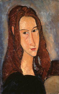 Modigliani Jeune fille rousse